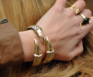 accessories, blonde, and fashion image