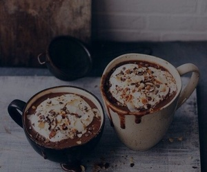 coffee, chocolate, and autumn image