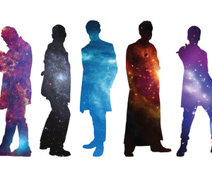 colors, doctor who, and space image