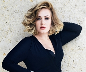 Adele, beauty, and singer image