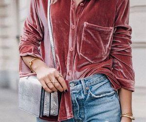 moda, style, and veludo image