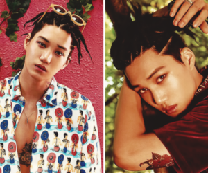 asian, kai, and exol image