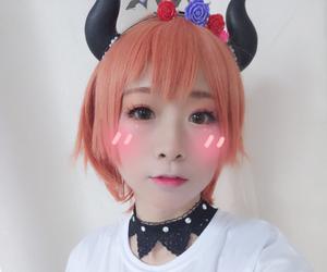 cosplay, Halloween, and hoshizora rin image