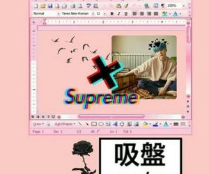 kawai, pink, and wallpapers image