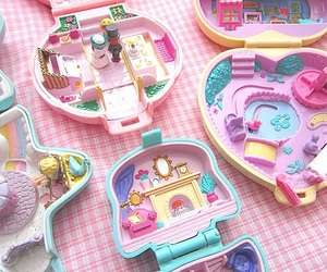 childhood, memories, and polly pocket image