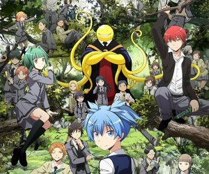 assassination classroom and anime image