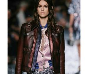 model, kaia gerber, and fashion image
