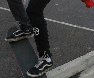 skate, vans, and grunge image