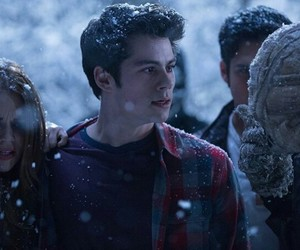 teen wolf, stiles stilinski, and lydia image