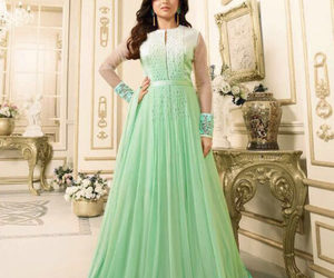indian fashion, indian dresses, and anarkali dresses image