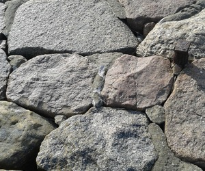 gray, stones, and wall image