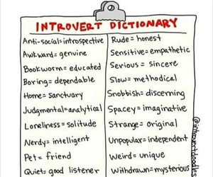 introvert image