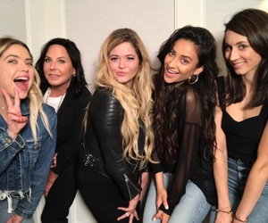 pretty little liars, ashley benson, and troian bellisario image