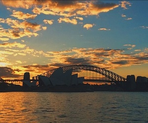 australia, beautifull, and bridge image