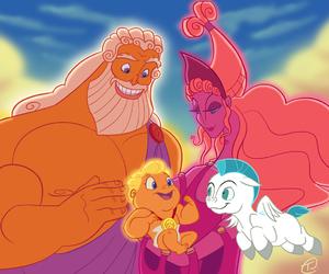 disney, hercules, and family image