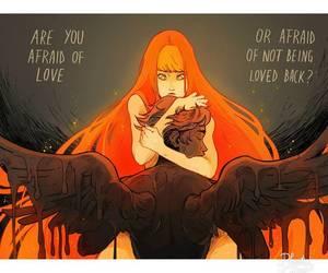 afraid, hurts, and pain image