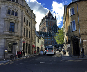 cities, canada, and quebec city image