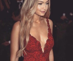 gigi hadid, model, and dress image