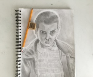 art, bald, and eleven image