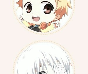 tokyo ghoul, anime, and chibi image