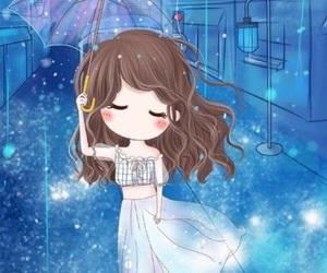 anime, beautiful, and girl image