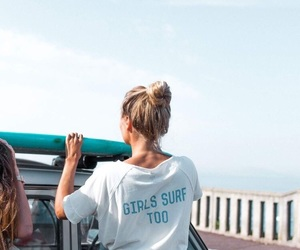 beach, beachlife, and girl image
