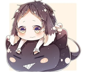 anime, bungou stray dogs, and chibi image