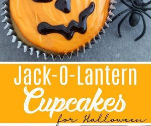 cupcakes, Halloween, and yum image