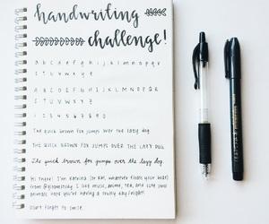 art, journal, and calendar image