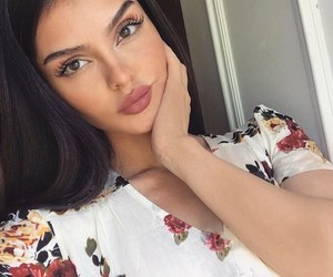 eyebrows, fashion, and glamour image