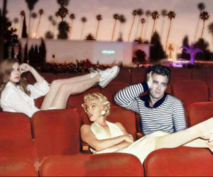lana del rey, james dean, and Marilyn Monroe image