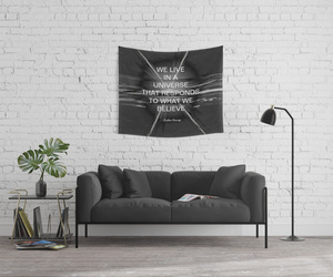 home decor, wall tapestry, and inspirational image