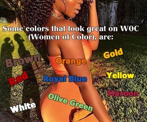 colors, melanin, and pretty image