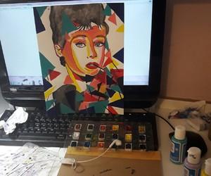 arte, dibujos, and ladys image