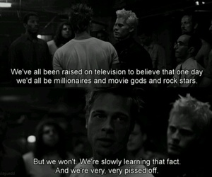 fight club, quote, and brad pitt image