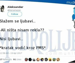 balkan, PMS, and twitter image