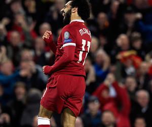 Liverpool and salah image