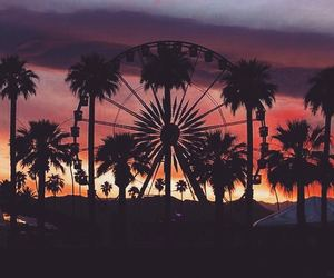 coachella and sunset image