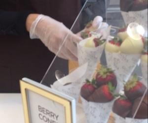 chocolate, cones, and chocolatier image