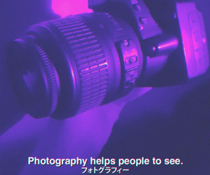 camera, feelings, and violet image
