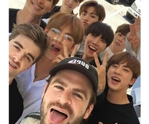 bts, chainsmokers, and the most couple image