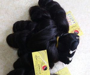 hair, remyhair, and hairextension image