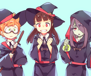 little witch academia, anime, and lotte image
