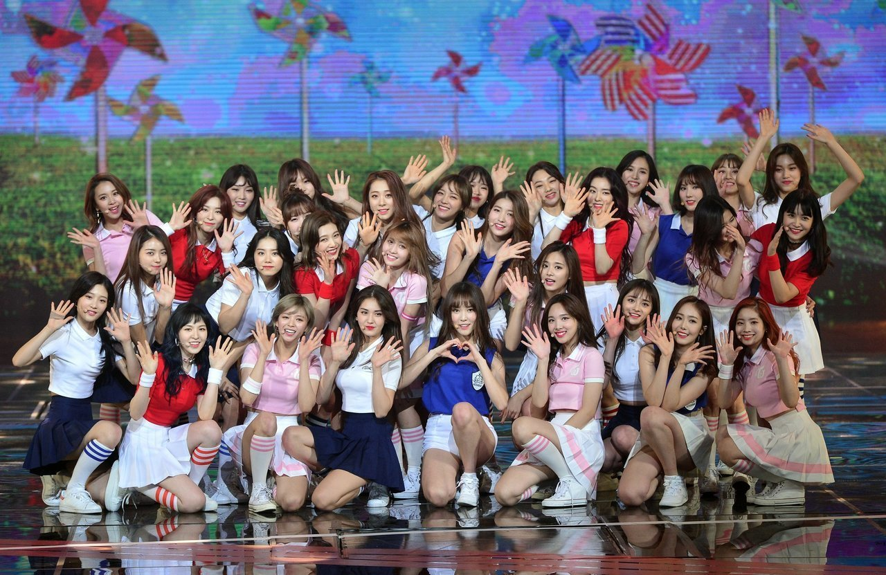 twice, ioi, and gfriend image