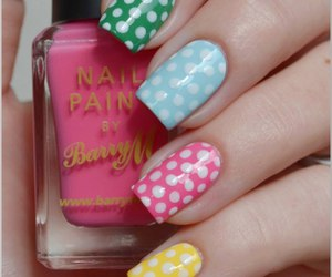 nails, colors, and fashion image