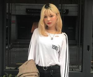 asian, top, and white image