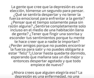 frases, depresion, and realidad image