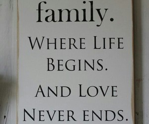 love, family, and life image