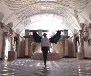 bts, jin, and wings image