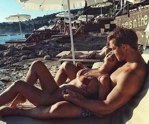 bae, beach, and date image